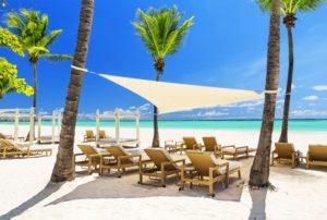 Praia em Punta Cana.