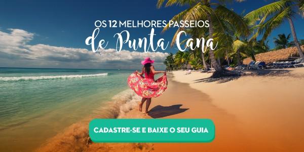 Ebook 12 Melhores Passeios de Punta Cana