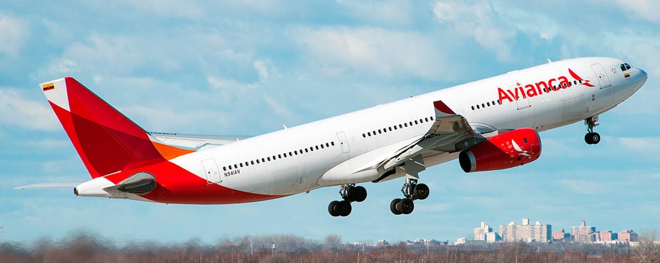 Avião da Avianca.