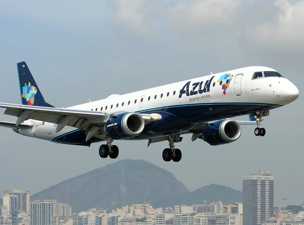 Avião da Azul.